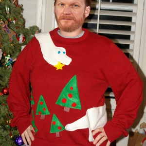 Weird Christmas Sweater 09
